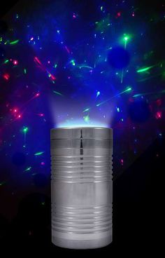 The Laserpod Shoots Colorful LED Lazers at The Ceiling trendhunter.com