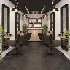 Hair Salon Furniture Collections - Trending Salon Spaces from Comfortel color ideas lengths salon decor styles for women for black women for long hair for short hair for thin hair for thin hair fine Home Hair Salons, Hair Salon Interior, Home Salon, Design Salon, Salon Interior Design, Interior Design Magazine, Salon Lighting, Beauty Salon Decor, Beauty Bar