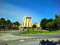 Boa tarde :D A entrada Sul da vila de Arcos de pelas 13:00 de hoje