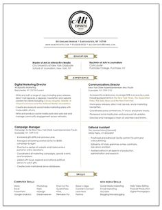 5 Things To Have On Your Resume By Senior Year Template Layouts