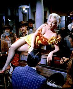 """""""Marilyn Monroe in River of No Return. """""""