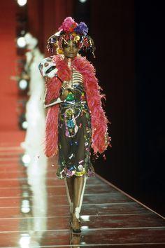 Christian Dior Fall 2000 Couture Fashion Show - Debra Shaw