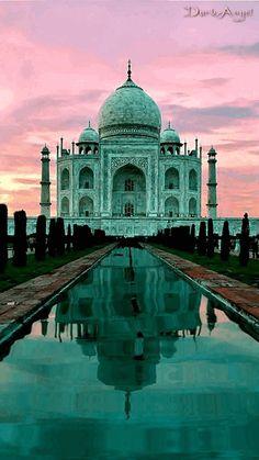 História Dinâmica: O Taj Mahal considerado como uma das mais importan...
