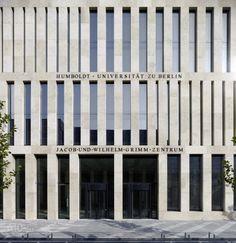 Jacob and Wilhelm Grimm Centre, Humboldt University, Berlin (Photo: Stefan Müller)