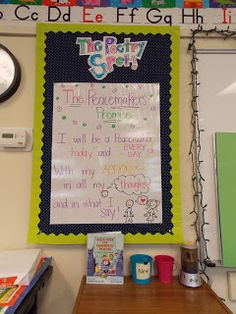 Back to school… Back to school… (Billy Madison anyone?!)So… this is what I walked into.The last few days I have been trying to rearrange and set up my *small* classroo…