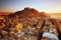 Alicante I could take or leave, but the castle is gorgeous, and getting up there is something else!