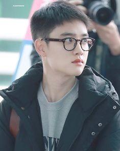 181119 @ ICN Airport Kyungsoo, Kaisoo, D O Exo, Cute Glasses, Exo Korean, Do Kyung Soo, Xiu Min, Kpop, Exo Members