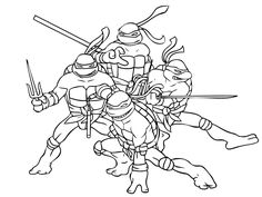 Download And Print Superhero Coloring Page Ninja Turtle Free Pages
