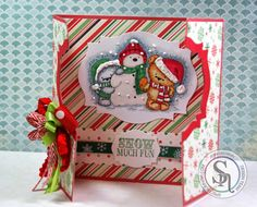 By Jenn Cochran for Crafter's Companion Party Paws-Snow Much Fun - Crafters Companion - #crafterscompanion http://jaxbeanstalks.blogspot.com/2014/12/snow-much-fun.html