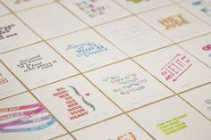 Hey Jude: explorando lettering e cores - Choco la Design | Choco la Design