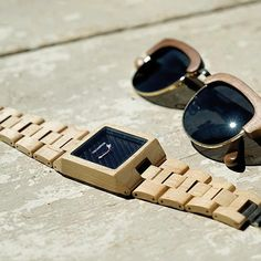 "100% Wood ""35 Black"" Garwood Watch"