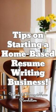 How To Start A Resume Writing Business Workathome Start A Resume Writing Home Business  Business Blog .