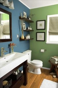 Benjamin Moore 1658 Lakeside Cabin and 546 Courtyard Green