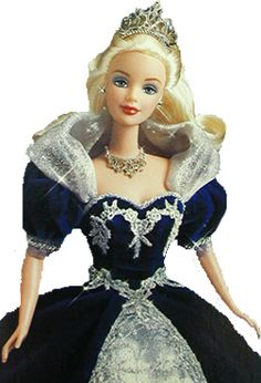 1999 Millennium Princess Barbie was the first Holiday doll not in the Happy Holidays series