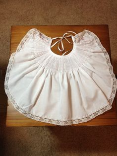 Ready to Smock Baby Bib by SeamsbyLeslie on Etsy, $25.00