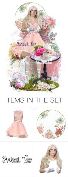 """""""Tea with Stephanie"""" by angelicallxx ❤ liked on Polyvore featuring art and LadyGaGa"""
