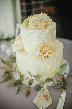 Buttercream #WeddingCake   I Tim LaBant Catering & Events I See more @WeddingWire