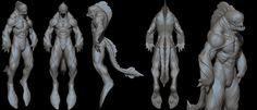 ArtStation - Sea creature design, Ljabli salim