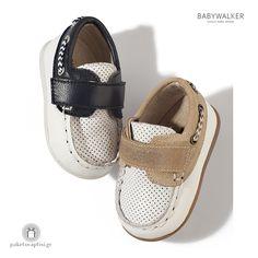 Παπουτσάκια Δίχρωμα για τα Πρώτα Βήματα με Velcro Babywalker PRI2016