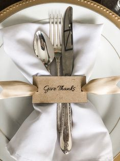 Items similar to Give Thanks Thanksgiving Napkin Ring Gift Tags Dining Table Decor Laser Cut Mirrored Gold Place Setting Fall Holiday Tablescape Decoration on Etsy Thanksgiving Table Settings, Thanksgiving Decorations, Table Decorations, Holiday Tablescape, Thanksgiving Tablescapes, Thanksgiving Napkin Folds, Thanksgiving Celebration, Personalized Napkins, Napkin Folding
