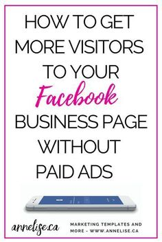Facebook Marketing Strategy, Social Media Marketing Business, Facebook Business, Online Marketing, Marketing Strategies, Marketing Tools, Marketing Plan, Content Marketing, Marketing Automation