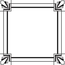 Image Result For Art Deco Frame Template Art Nouveau In 2019 Art