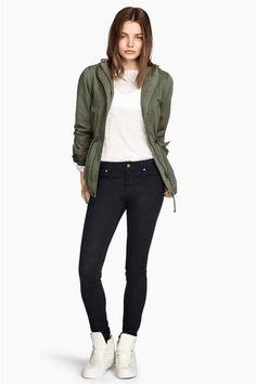 Strečové kalhoty | H&M