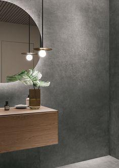 גרניט פורצלן מדוקק במידות גדולות FOIL BURNISH 120/278 של חברת REFIN Decor, Spa, Dark Colors, Lighting, Lamp, Ceiling Lights, Colours, Ceiling, Home Decor