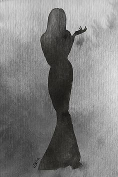 Morticia Addams ®Guillaume Briere by glamgraphic, via Flickr