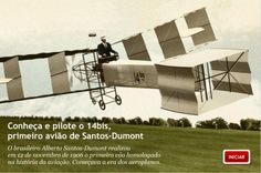 14bis flew in Paris in 1906. By Santos Dumont from Brazil