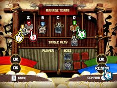 Interfaces for Kung Fu Panda Wii