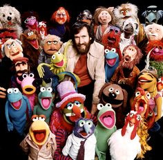 Thanks to my Dad, we had a muppet-filled childhood.  Terrific memories and inside jokes that still pop up in our everyday conversations!  Thank you Jim Henson!! <3