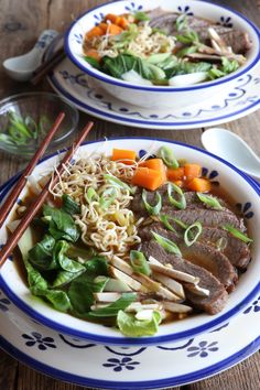 Spicy Beef Ramen made easy: Get it while it's hot! This Spicy Beef Ramen is so good and really easy to make. No need to go out to look for a decent Japanese restaurant for you to be able to enjoy a bowl of a Asian Recipes, Beef Recipes, Whole Food Recipes, Soup Recipes, Asian Foods, Drink Recipes, Dinner Recipes, Healthy Dishes, Healthy Recipes