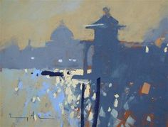 """Contre Jour, Venice"" - Original Fine Art for Sale - © Tony Allain"