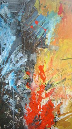 Colour: Abstract Expressionism By Lauren Thompson