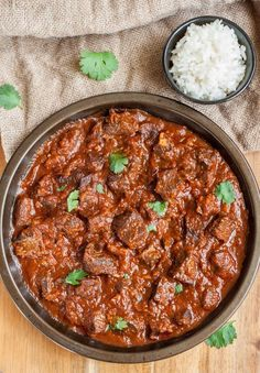 Beef Masala Curry When it comes to quick and satisfying meals Beef Masala Curry is at the top of the list. Fragrant spices and tender meat is on the table in 30 minutes! - (Very Good) Pressure cook for 35 min & thicken with Quinoa Flakes Beef Steak Recipes, Beef Recipes For Dinner, Meat Recipes, Food Processor Recipes, Cooking Recipes, Healthy Recipes, Stewing Beef Recipes, Oven Recipes, Quick Beef Recipes