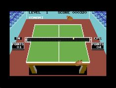 Ping Pong (Commodore 64)