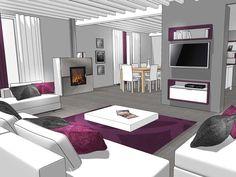 aménagement déco interieur maison contemporaine | Décoration ...