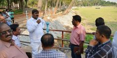 Mayor Bontu Ram Mohan today made ana Surprise Inspection at Indira Park Hyderabad. He Directed officials to complete the pending works with Priority.