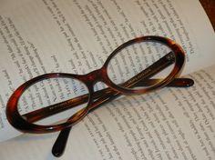 Cat Eye glasses frames eyeglasses vintage tortoise shell horn rimmed by HighHeeledHousewife, $35.00