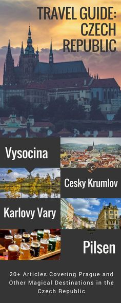 Czech Republic Travel Guide: 20+ articles with tips and travel information for Prague, Cesky Krumlov, Pilsen, Karlovy Vary, and much more!