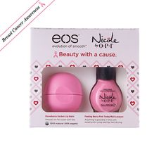 Breast Cancer Awareness Charity Beauty Products: Lipstick.com