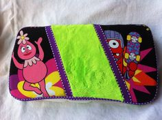 Yo Gabba Gabba Travel Wipe Case by BsBoutiqueByChelsea on Etsy, $12.00