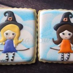 Cute witches cookies // emmassweets