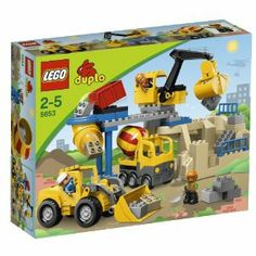 LEGO Duplo Set #5653 Stone Quarry by LEGO. $179.49. LEGO Duplo Stone Quarry 5653. bIts another hard work day at the LEGO Ville Stone Quarry!/bIts time for rocking big fun at the stone quarry with the big frontloader, the powerful crane and the bigtime delivery truck! This huge set includes the quarry crane with easytouse grab claw and front end loader! Includes 3 LEGO DUPLO construction worker figures Frontloader measures over 6 (15cm) long and over 5 (1...