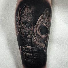 Tattoo by Rob Richardson #InkedMagazine #blackandgrey #tattoo #tattoos #inked #art