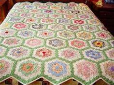 grandmothers flower quilt   Grandmother's Flower Garden Quilt ... : grandmothers garden quilt - Adamdwight.com