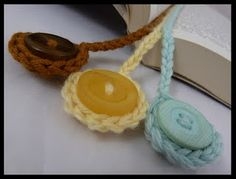 simple crochet bookmarks