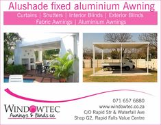Windowtec sells interior blinds, exterior blinds, fabric awnings & shutters in Nelspruit, Mpumalanga. We are a Luxaflex® Gallery Store located at Riverside Industrial Park, Nelspruit. Fabric Awning, Fabric Blinds, Exterior Blinds, Aluminum Awnings, Industrial Park, Shutters, Commercial, Tech, Suit