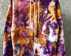 Hand Dyed Cotton Crew Neck Sweatshirt in Super Nova Anna Etsy Business, Business Ideas, Diy Tie Dye Techniques, Super Nova, Tie Dye Crafts, Diy Ideas, Craft Ideas, How To Tie Dye, Outfits